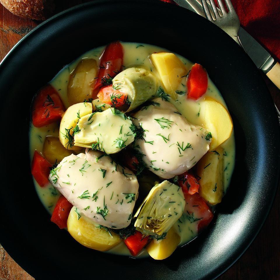 Greek Chicken & Vegetable Ragout