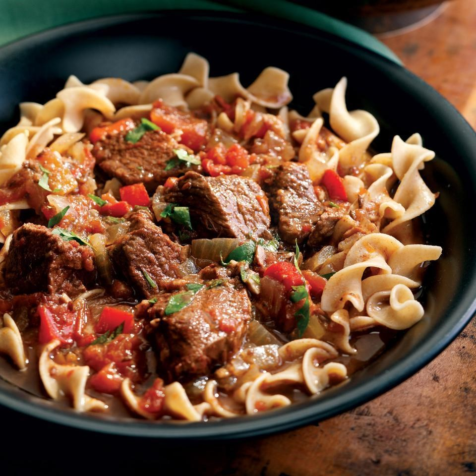 Hungarian beef goulash recipe eatingwell hungarian beef goulash forumfinder Gallery