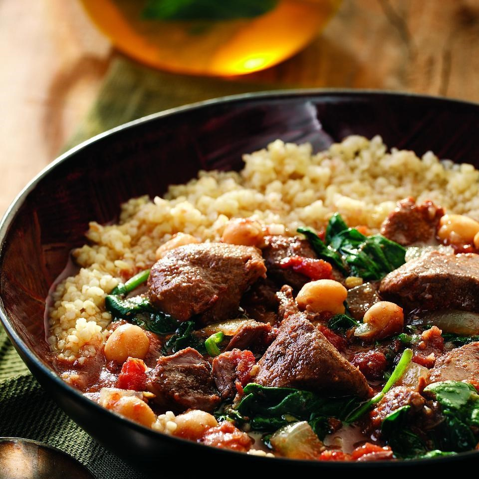 Middle Eastern Lamb Stew Recipe - EatingWell