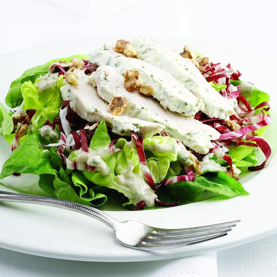 Spring Chicken Amp Blue Cheese Salad Recipe Eatingwell
