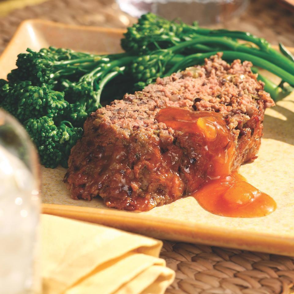 Black Rice Curried Meatloaf