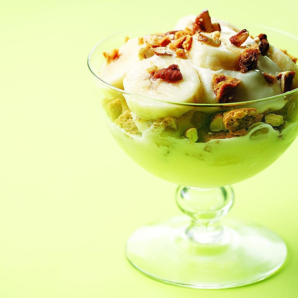 Gingersnap-Banana Frozen Yogurt