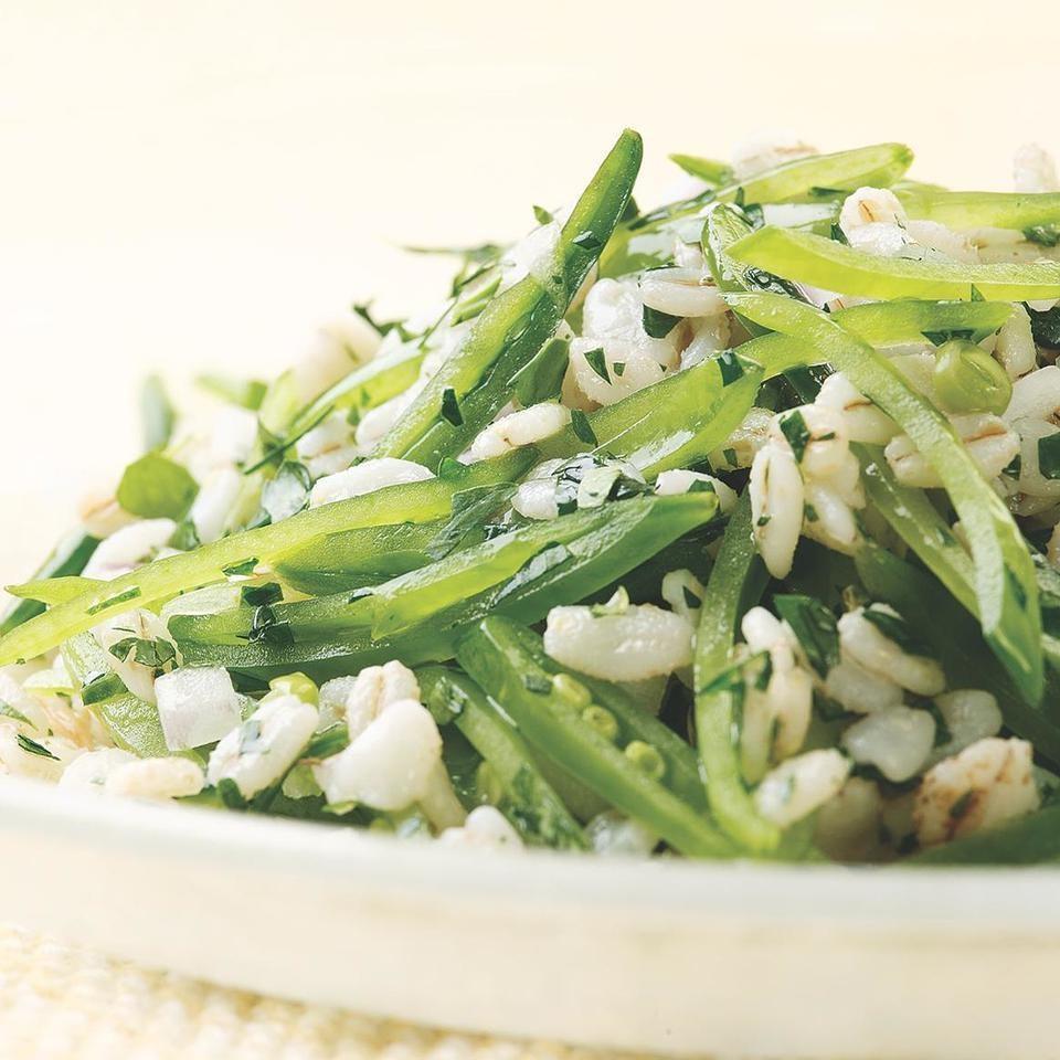 Sugar Snap Pea & Barley Salad