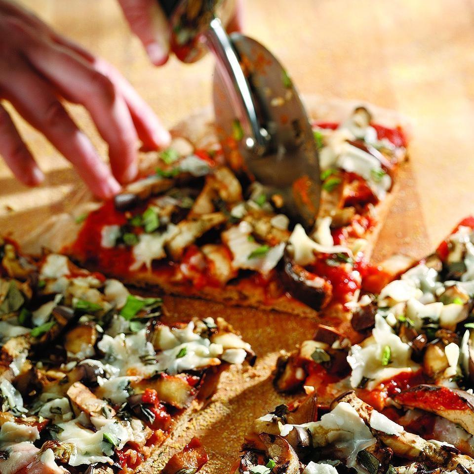 Eggplant Parmesan Pizza Recipe Eatingwell
