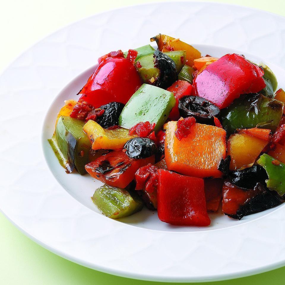 Grilled Pepper Salad