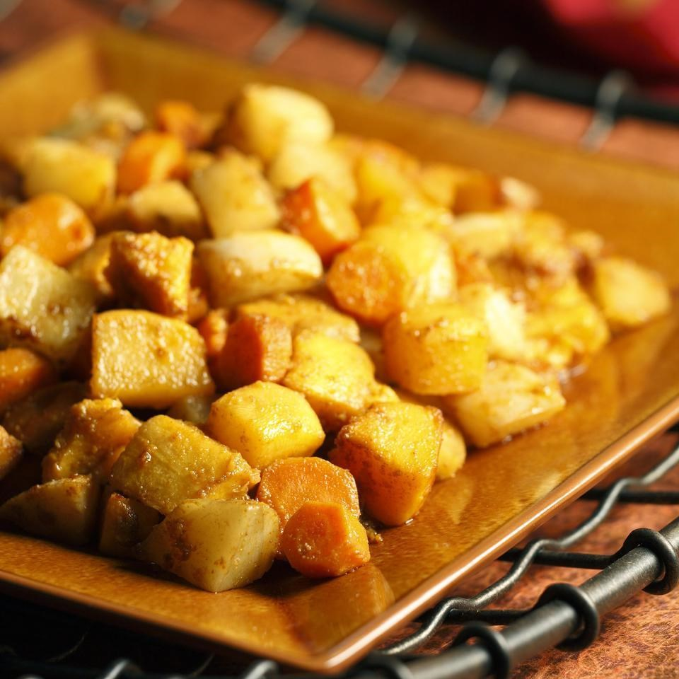 Roasted Root Vegetables with Chermoula