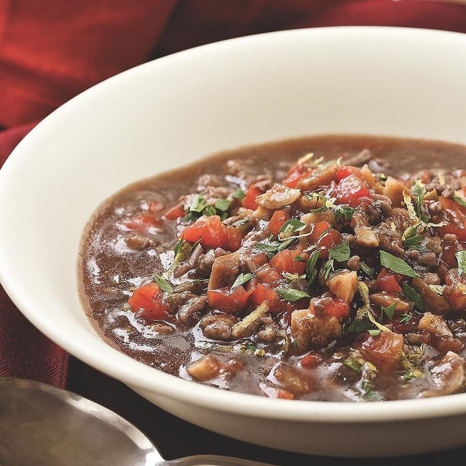 Lamb, Fig & Olive Stew
