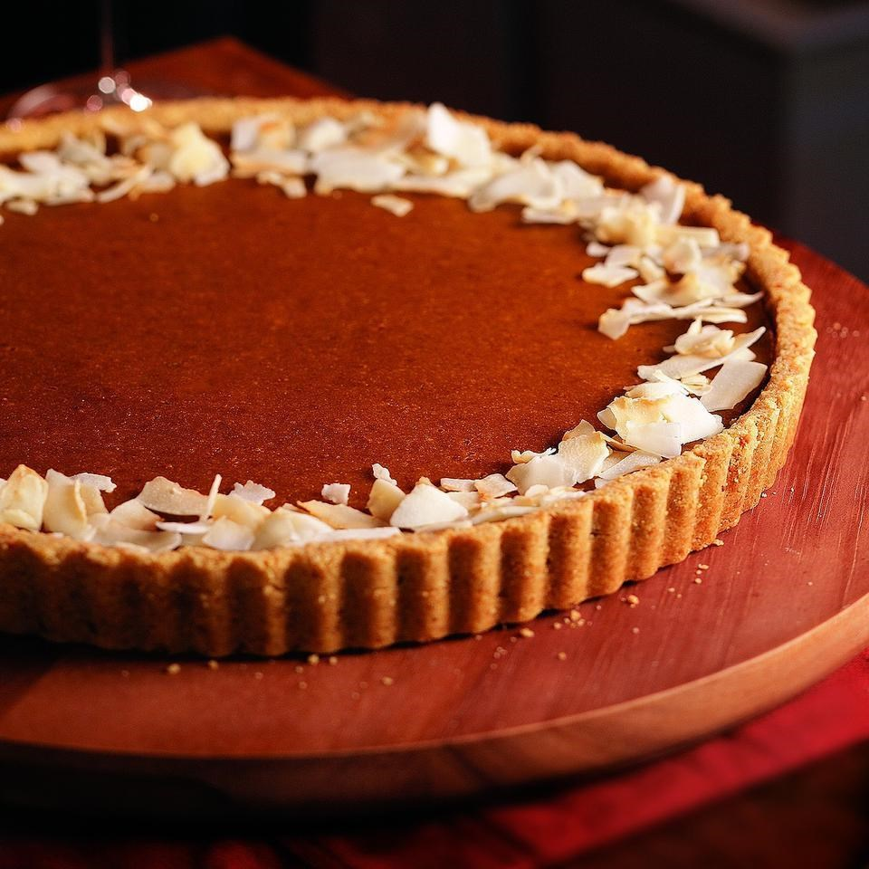 Pumpkin Coconut Tart Recipe