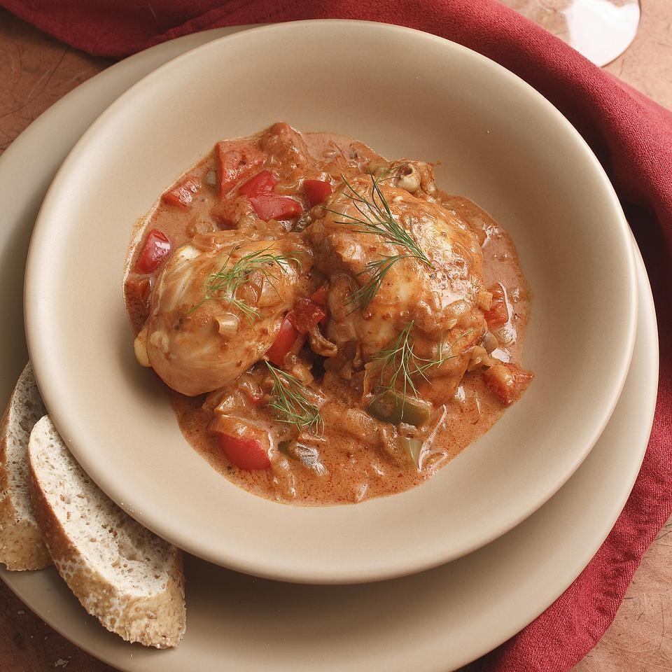 Braised Paprika Chicken