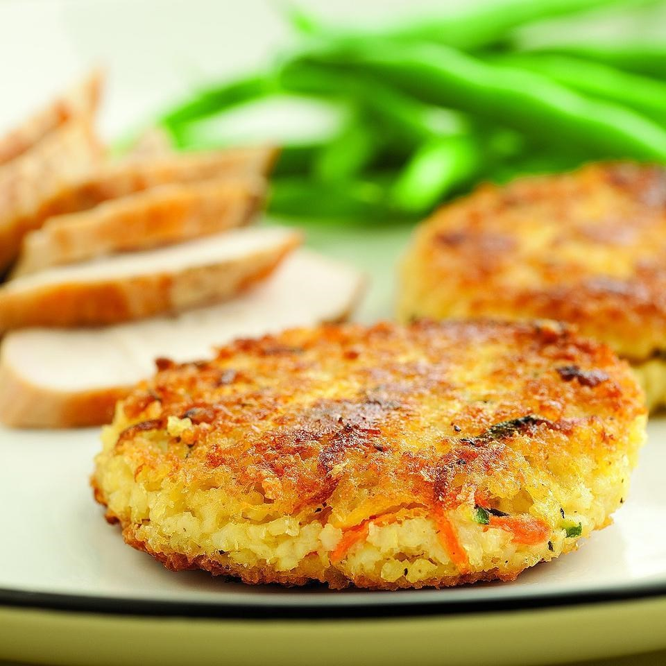 savory millet cakes recipe eatingwell