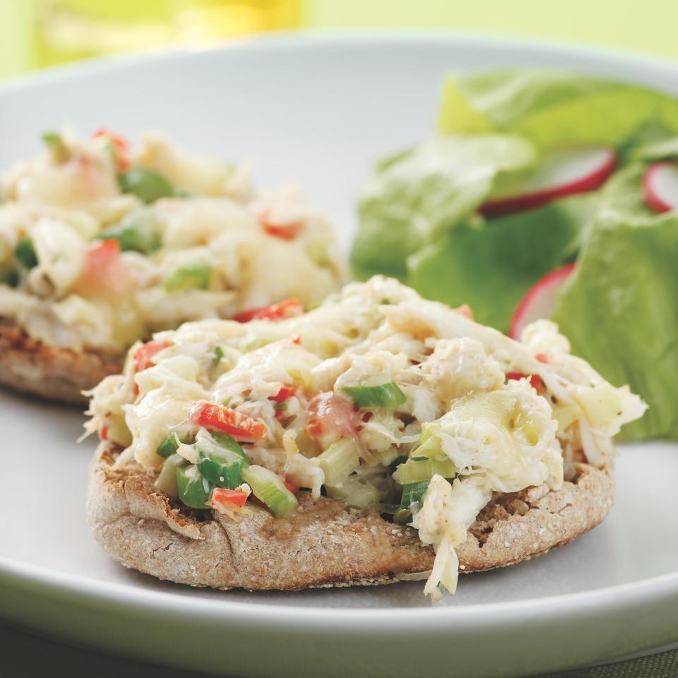 Crab Salad Melts