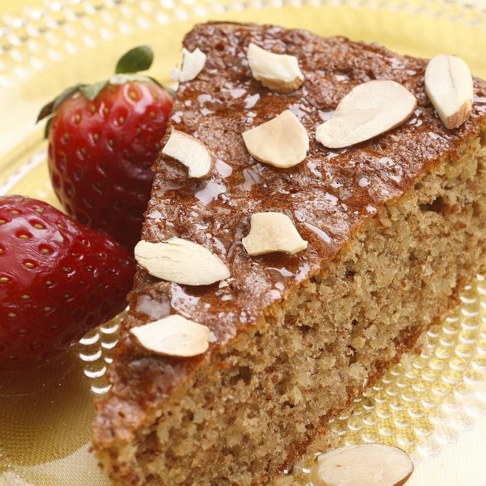 Gluten Free Honey Almond Cake Recipe