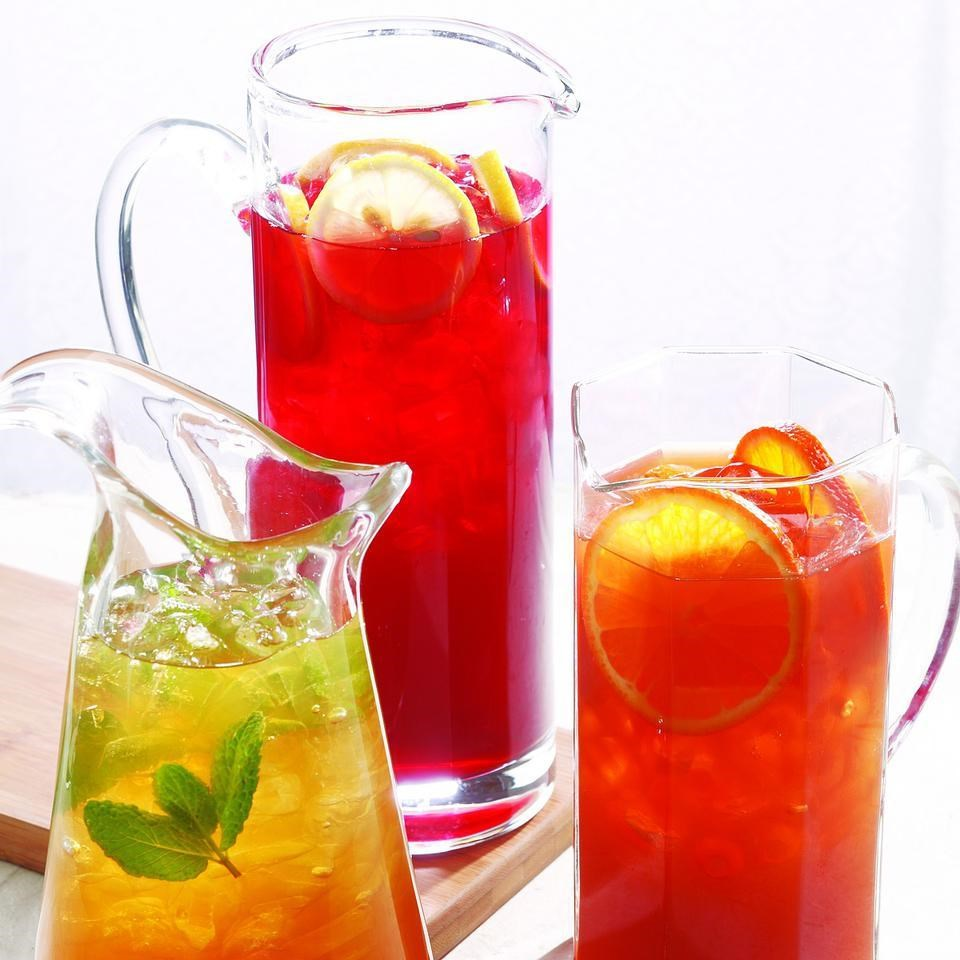 Green Jasmine Mint Iced Tea Lemon Recipe Eatingwell