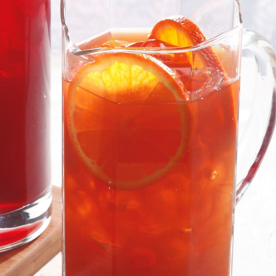 Orange-Earl Grey Iced Tea