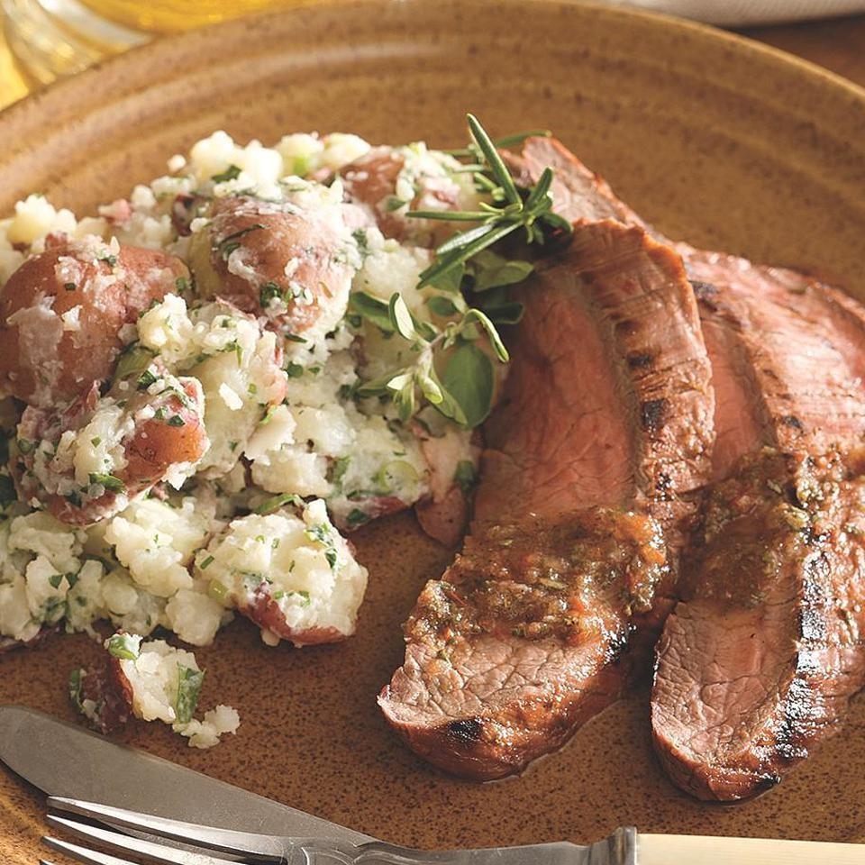 Tomato-Herb Marinated Flank Steak