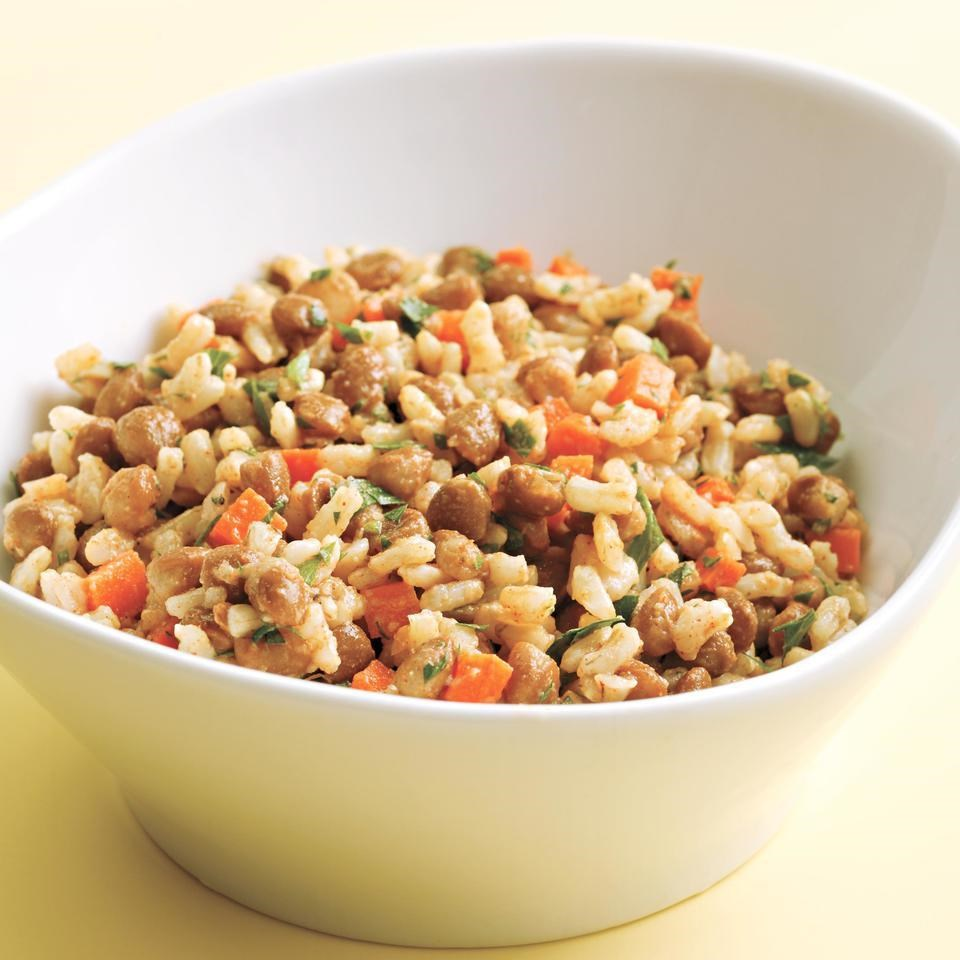 Rice Amp Lentil Salad Recipe Eatingwell