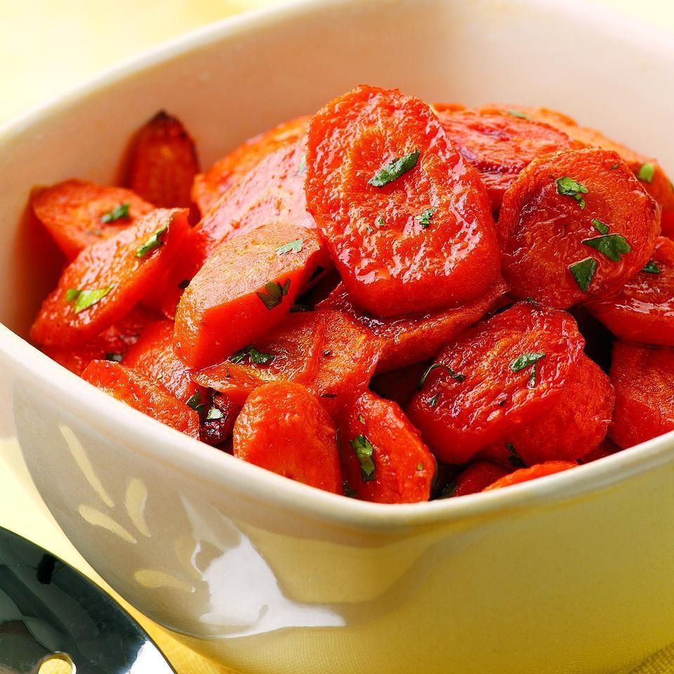 Chili-Roasted Carrots