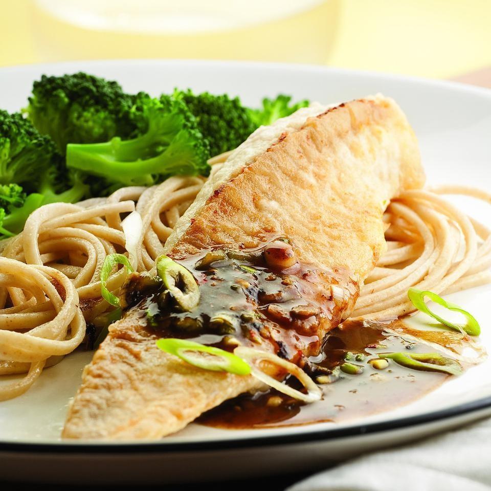Black Bean-Garlic Catfish for Two