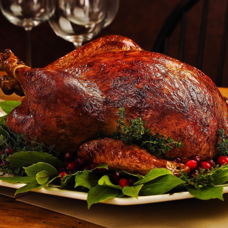 Brine-Cured Roast Turkey