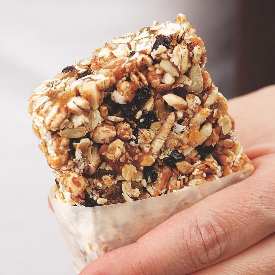 Almond-Honey Power Bar Recipe - EatingWell