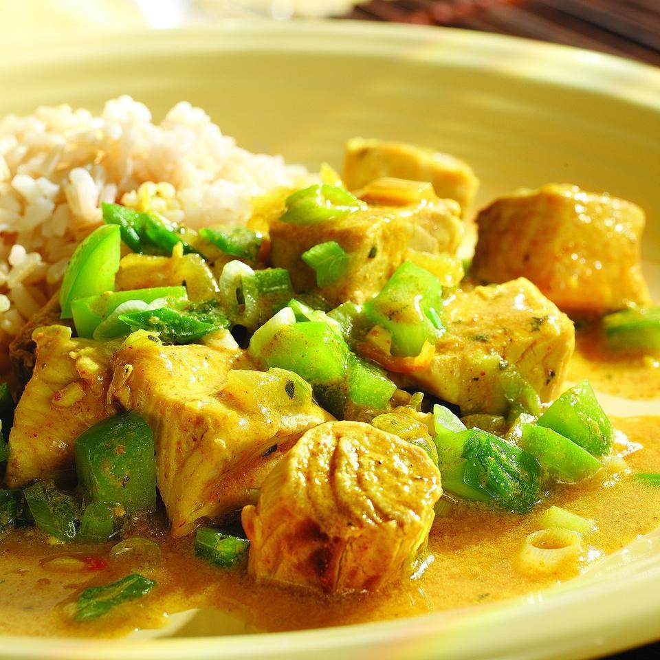 Curried fish recipe eatingwell for Cooking with fish sauce