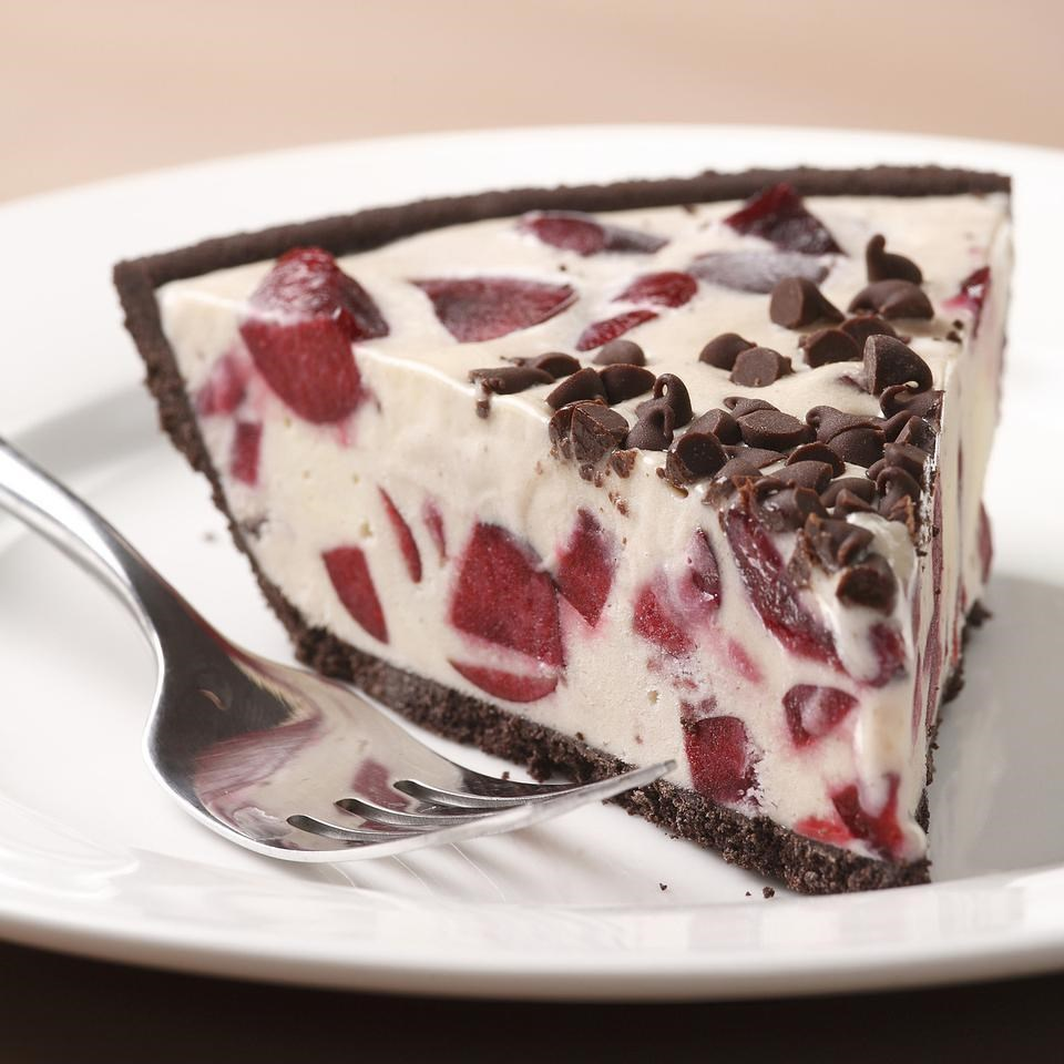 Cherry Garcia Ice Cream Cake Recipe