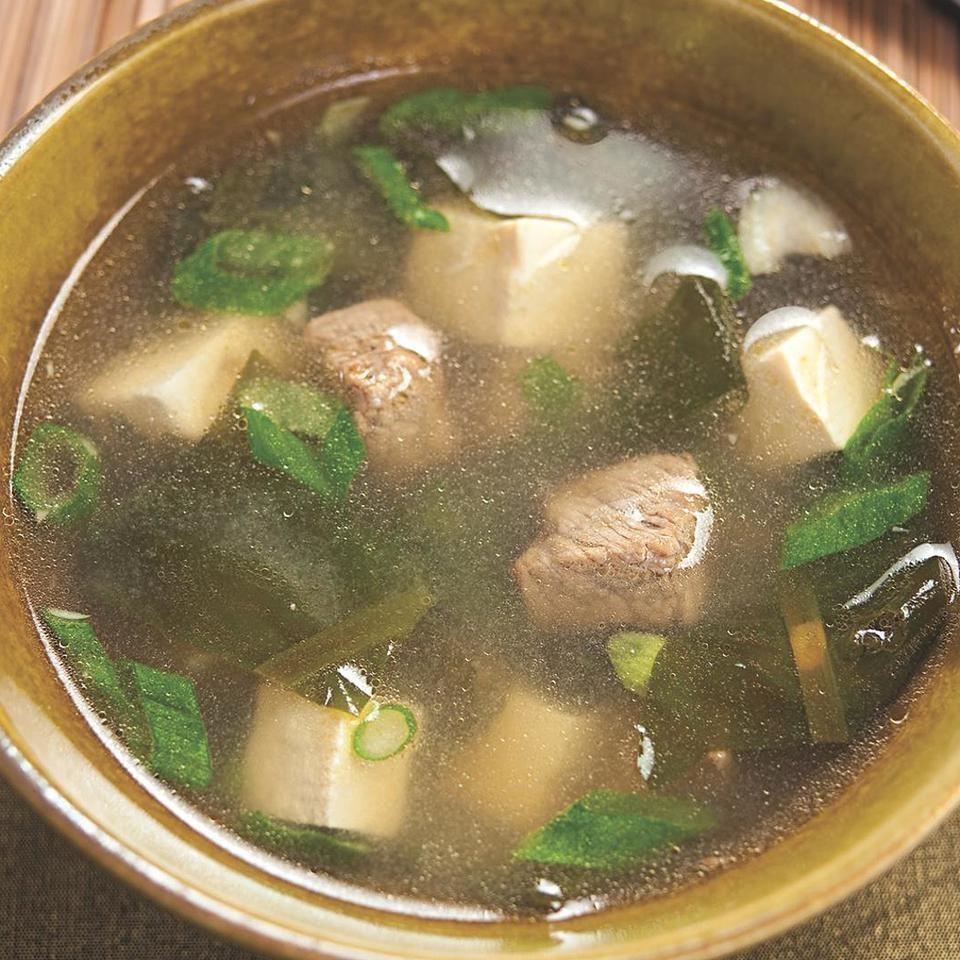 Seaweed & Tofu Soup