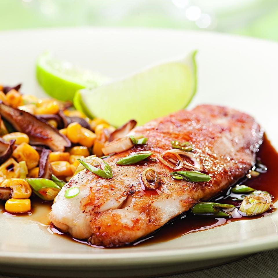 Five-Spice Tilapia for Two