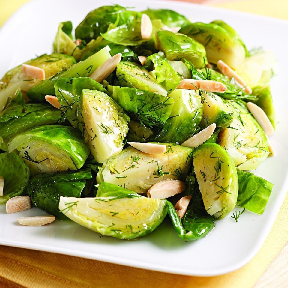 Brown Butter & Dill Brussels Sprouts