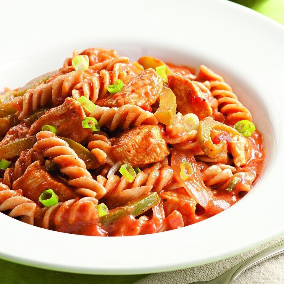 Creamy Cajun Chicken Pasta Recipe - EatingWell
