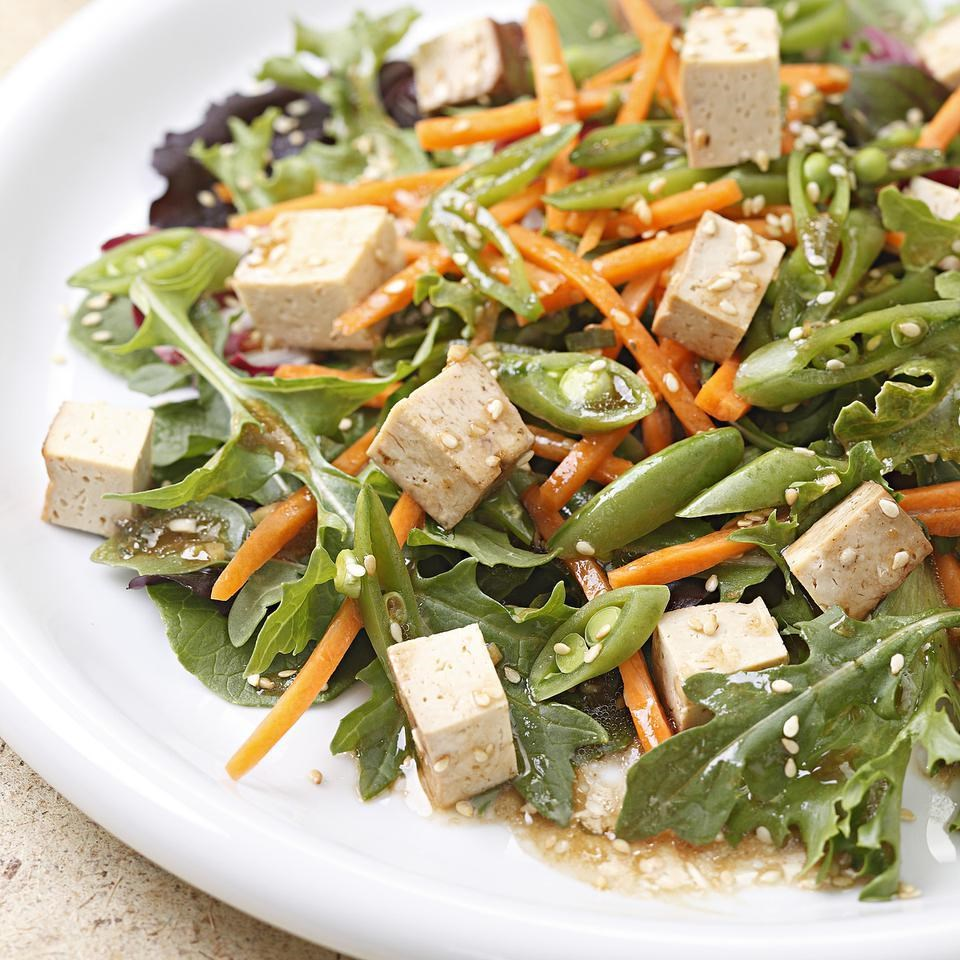1-Day Vegetarian Healthy Aging Meal Plan: 2,000