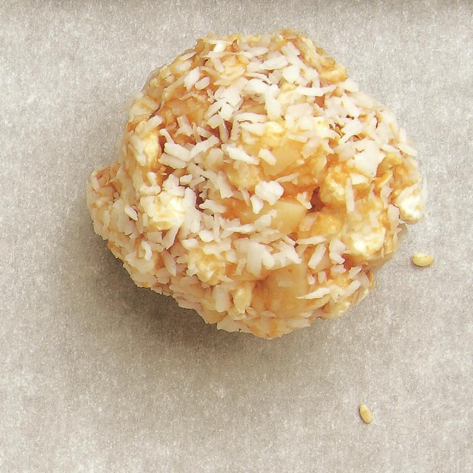 Tropical Popcorn Balls