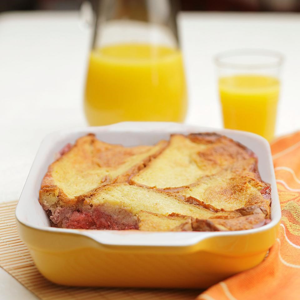 Breakfast Fruit Bread Pudding Recipe Eatingwell