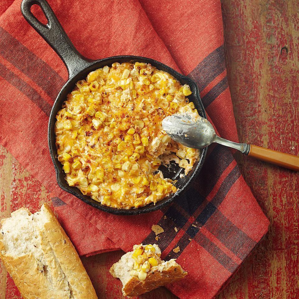 Roasted Corn Cheese Dip