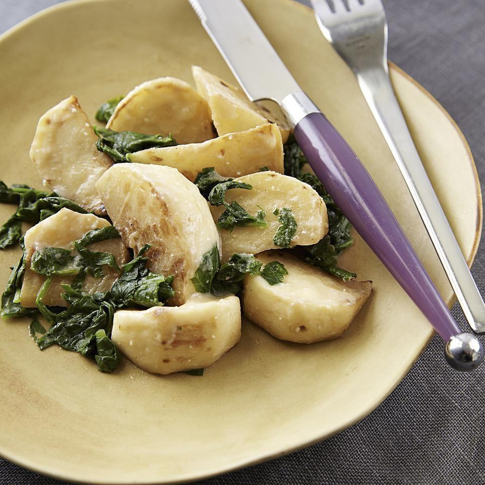 Miso-Butter Braised Turnips