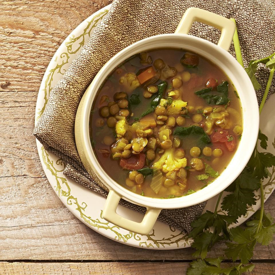 Moroccan Lentil Soup Recipe - EatingWell