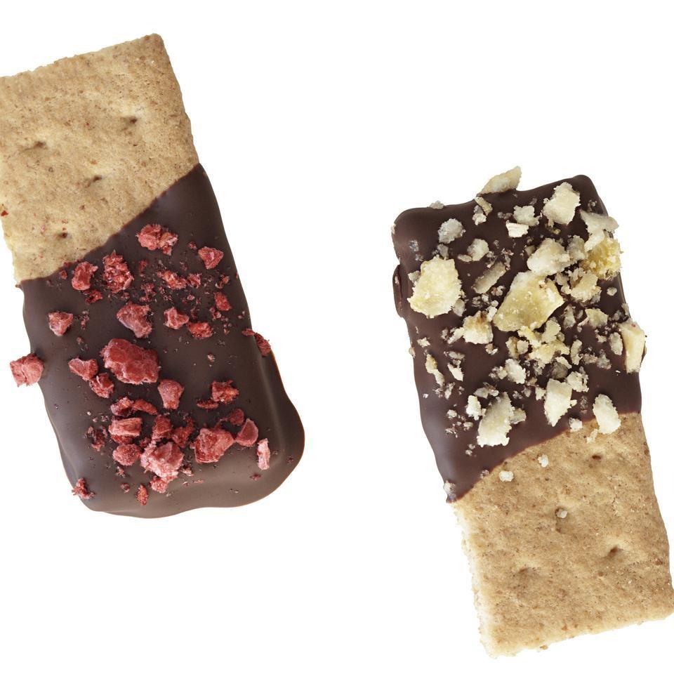 Chocolate-Dipped Graham Crackers