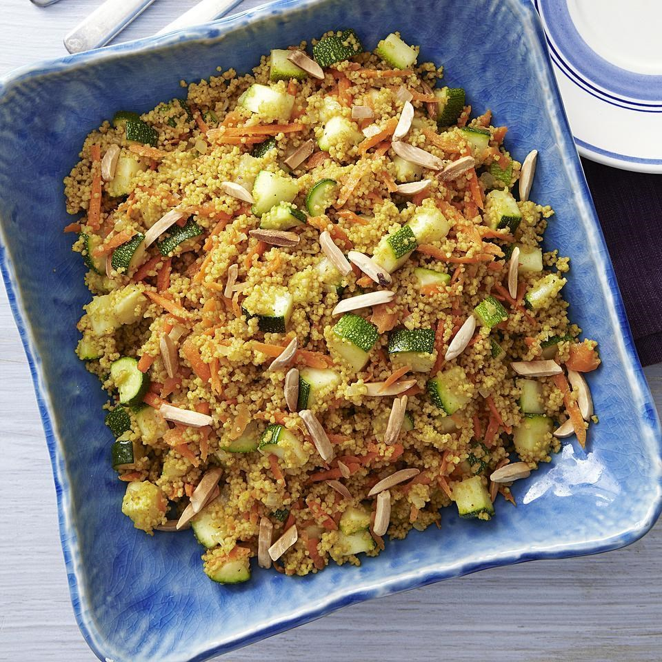 Curried Zucchini & Couscous