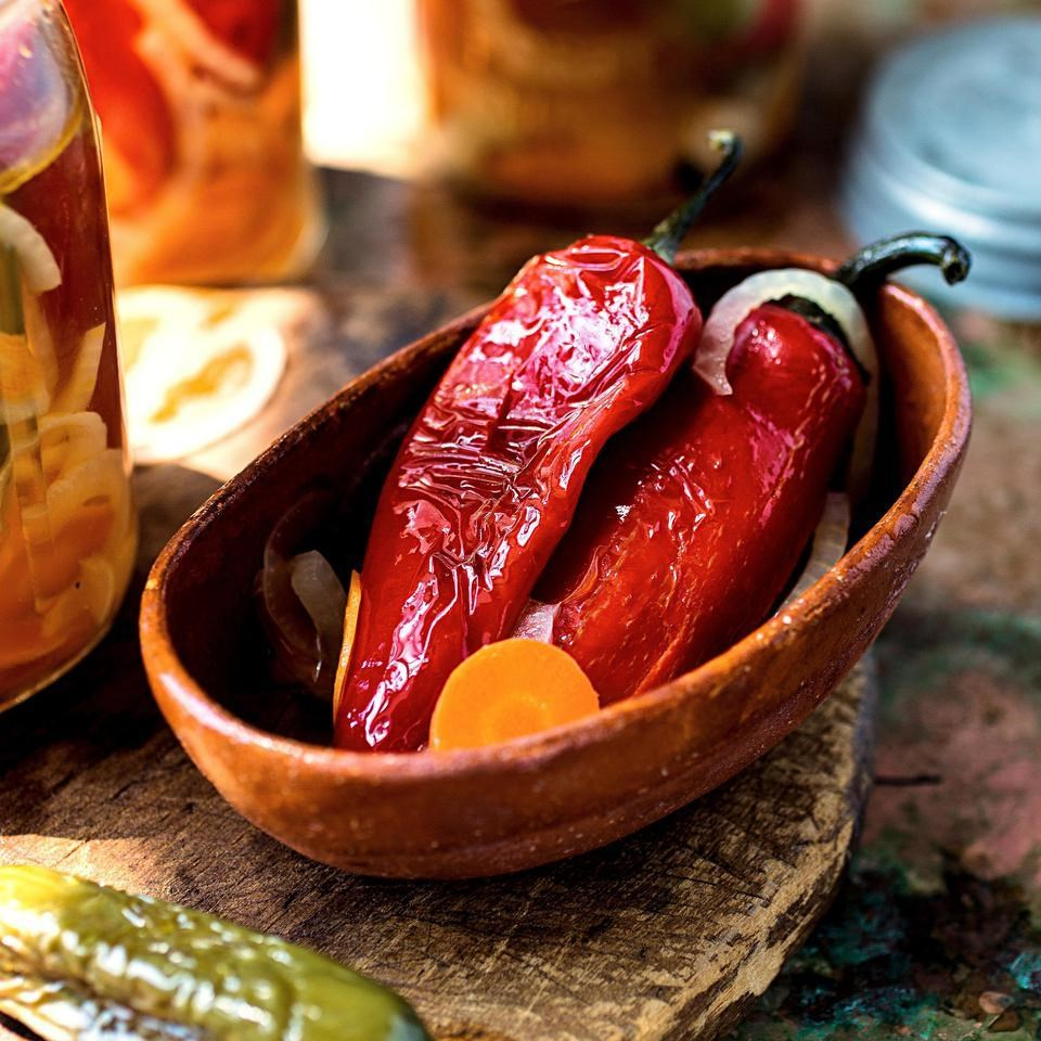 Jalapenos in Escabeche
