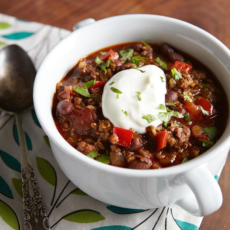 Buffalo & Black Bean Chili