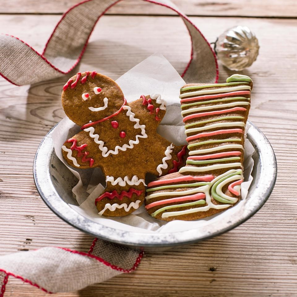 Iced Gingerbread Cut-Out Cookies