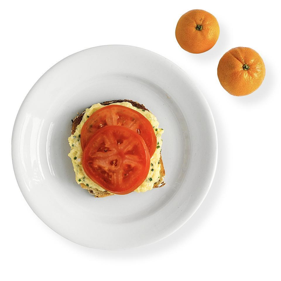 Open-Face Egg Sandwich