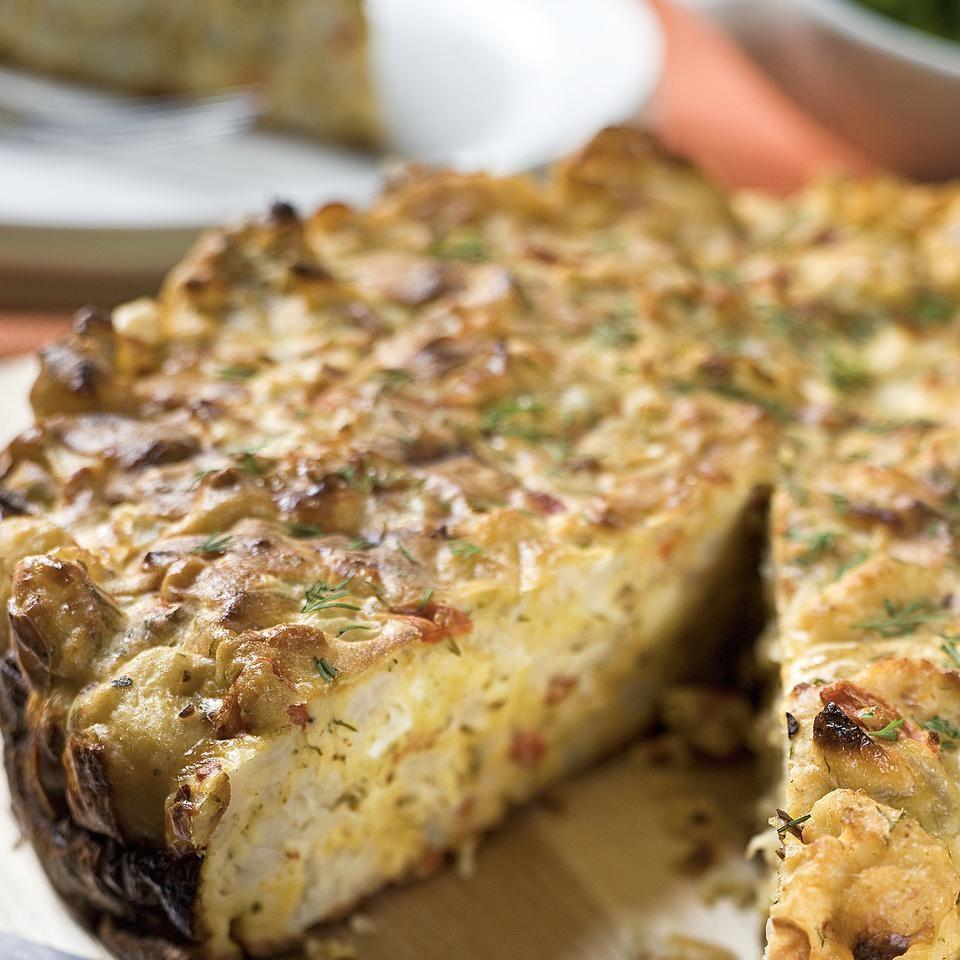 Savory Cauliflower Cake Recipe Eatingwell