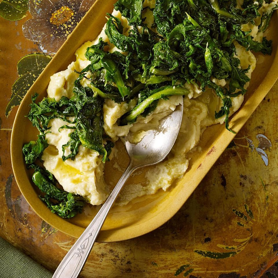 Fava Bean Puree with Chicory