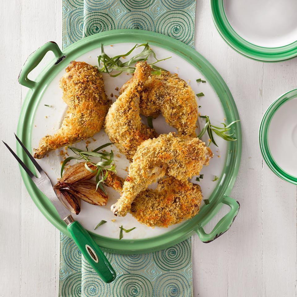 Baked Chicken with Tarragon & Dijon Mustard