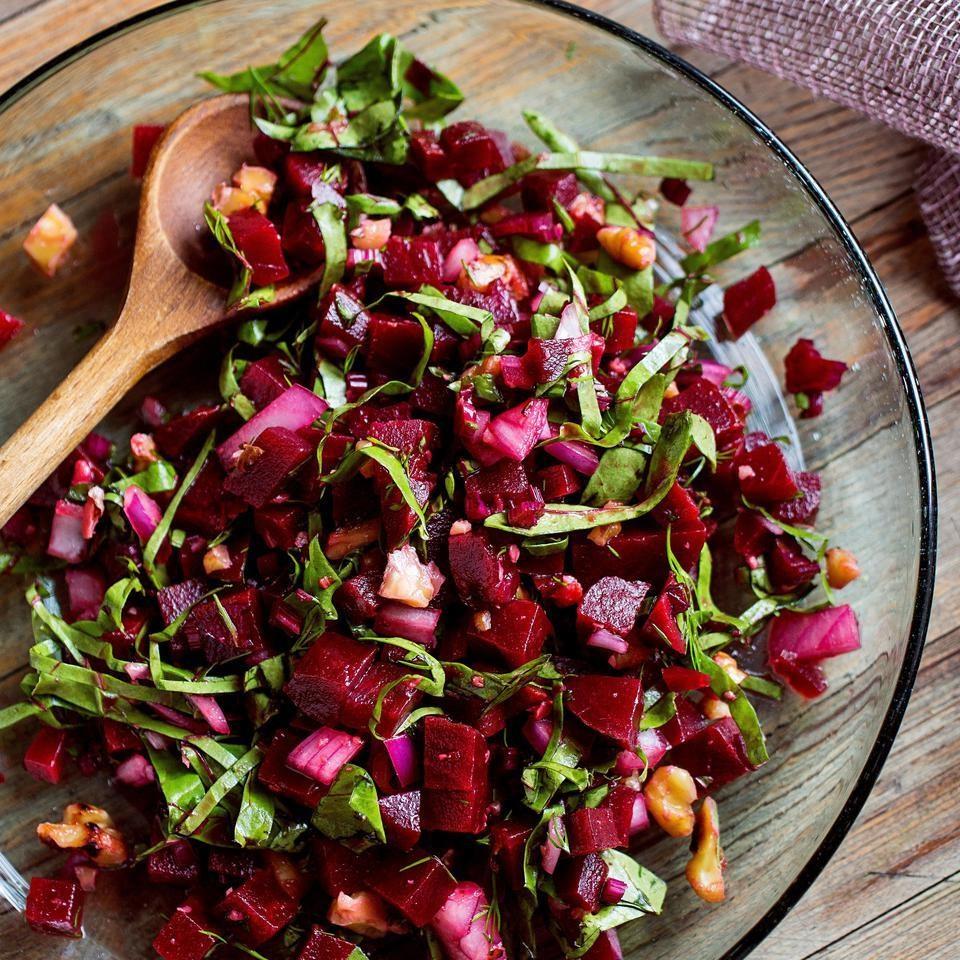 Roasted Beet Salad Recipe Eatingwell