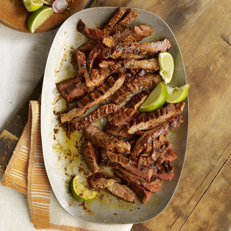 Chile-Marinated Skirt Steak (Carne Asada en Adobo de Guajillo)