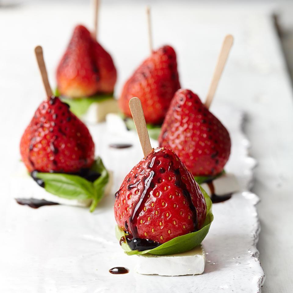 Strawberry & Brie Bites Recipe - EatingWell