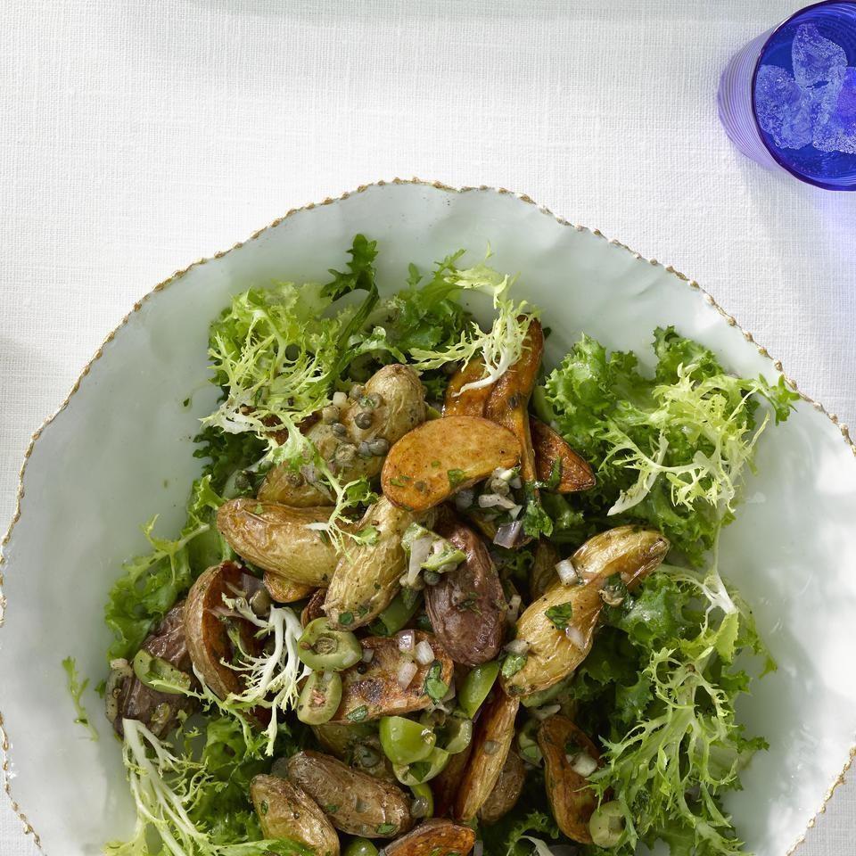 Frisee & Fingerling Potato Salad