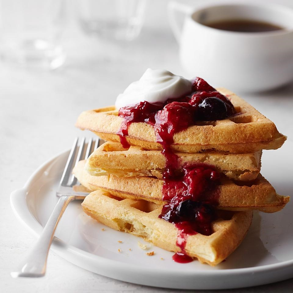 Yeasted Waffles Recipe